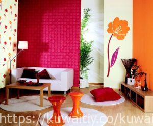 تركيب ورق جدران بالكويت